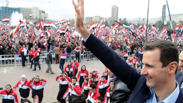 Basher al-Assad Beeld null