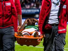 Okita loopt hersenschudding op in duel Jong PSV en moet rust houden