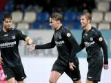 Heerenveen rekent hard af met tien man Willem II