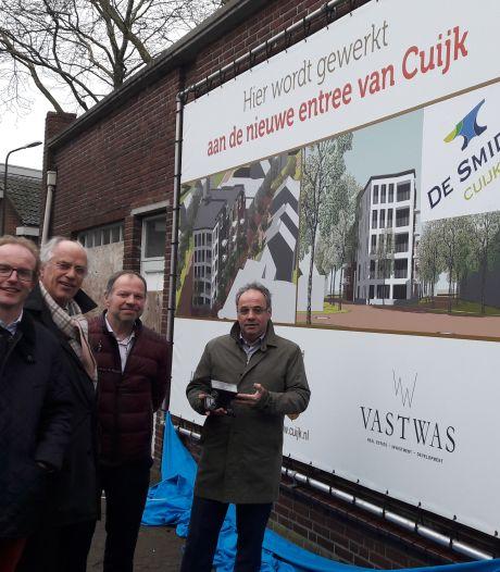 Verkoop dure appartementen Molenstraat in Cuijk blijft flink achter