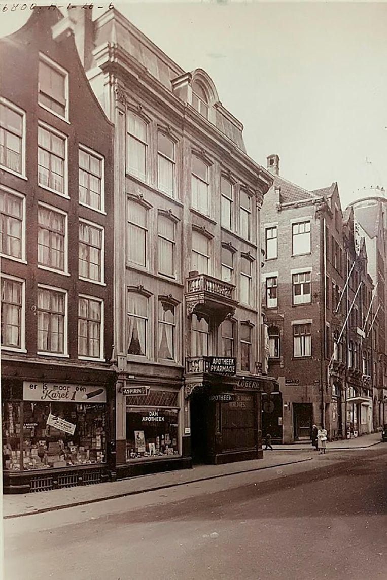 De Damstraat van opa Jopie Beeld Privé-archief