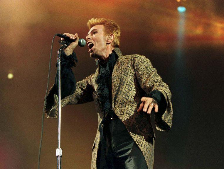 David Bowie: 'Ik ga liever avontuurlijk ten onder dan succes te hebben waar ik zeker van ben.' Beeld REUTERS