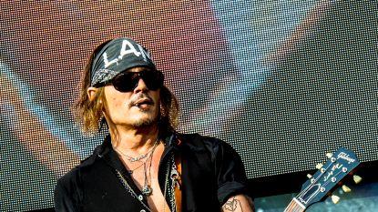 Johnny Depp op Graspop: Leuke gimmick, meer niet