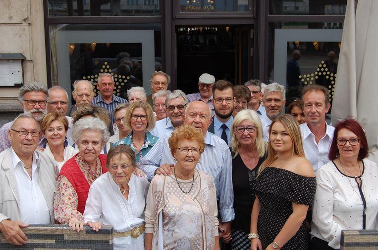 Andre Pardon en Celine Holsbeek vieren hun 65ste huwelijksverjaardag