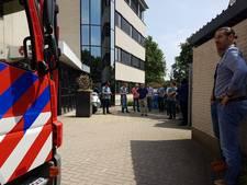 Strukton in Hengelo tijdelijk ontruimd na ontploffing batterij
