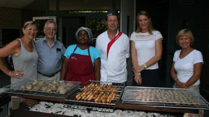 Veel belangstelling voor barbecue 't Bruggeske