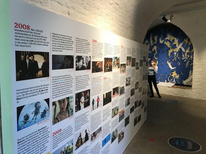 In het Fort Napoleon van Oostende opent een nieuwe expo die de geschiedenis van de Vlaamse film belicht, getiteld 'Het Wonder is Geschied'.