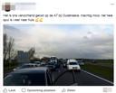 Post op Facebook van een actievoerder
