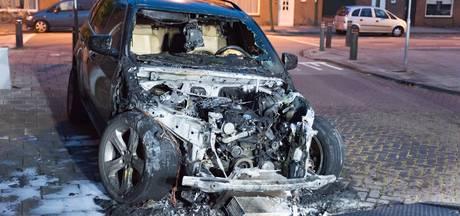 Weer auto uitgebrand in Tilburg
