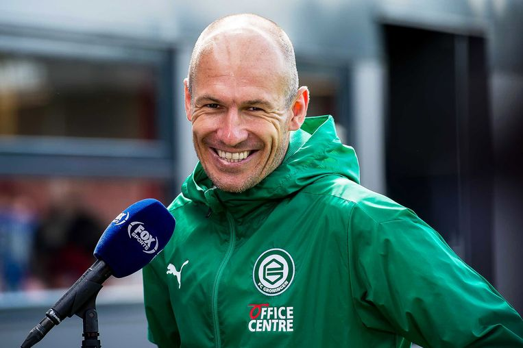 Arjen Robben. Beeld EPA