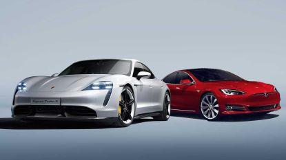 Elon Musk stuurt Tesla naar circuit na recordtijd van elektrische Porsche