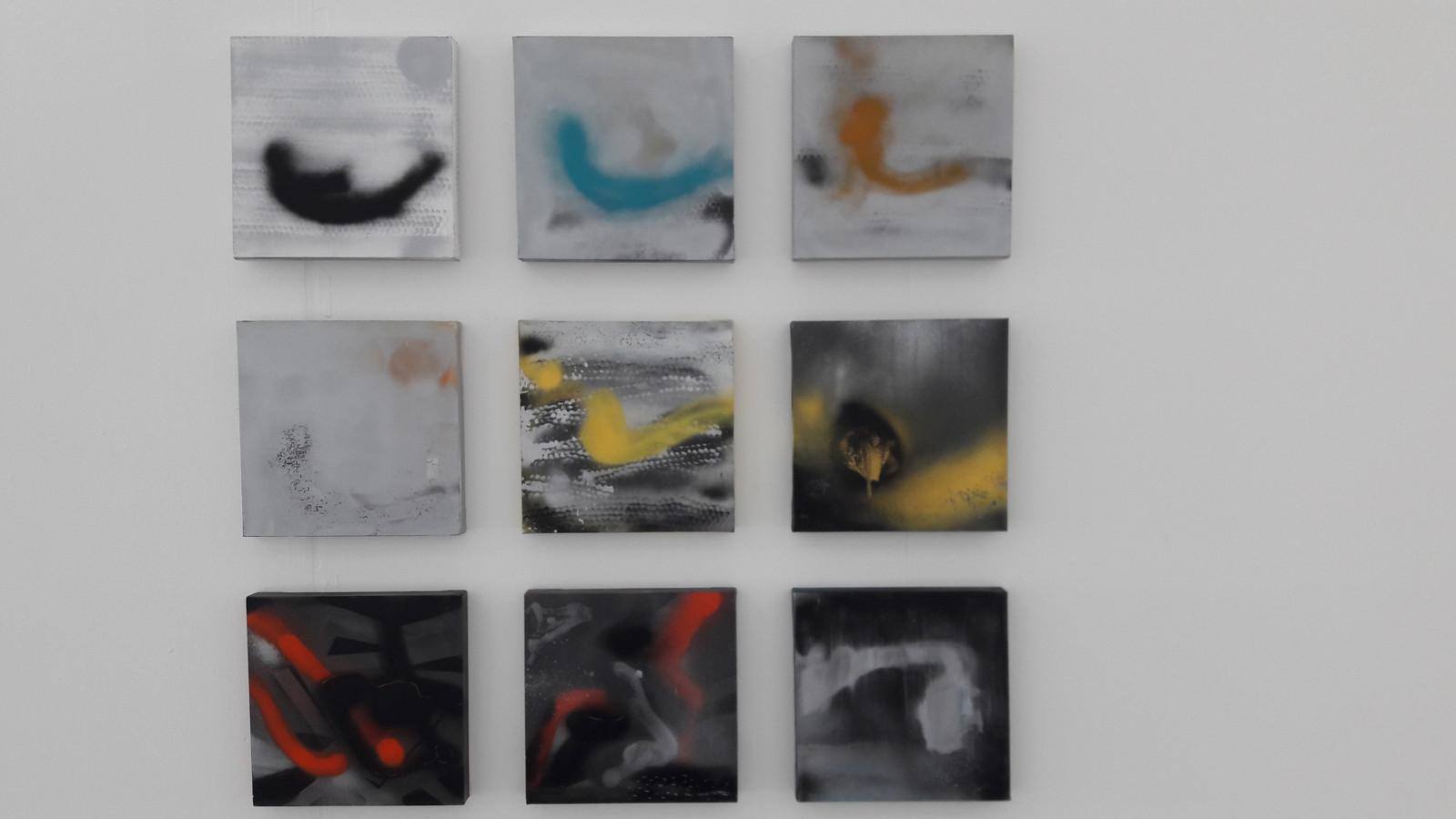 Werk van Mary Chang, onderdeel van de expo in Helmond.