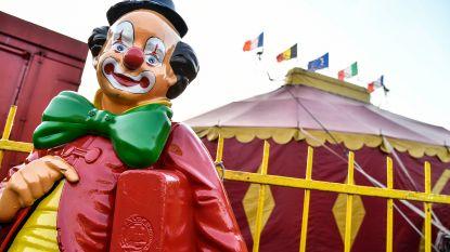 Circus palmt Te Boelaerpark in