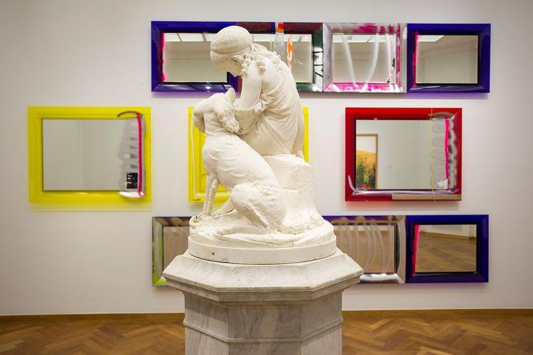 De keuze van Tjebbe Beekman in het Haags Gemeentemuseum. Beeld Alice de Groot