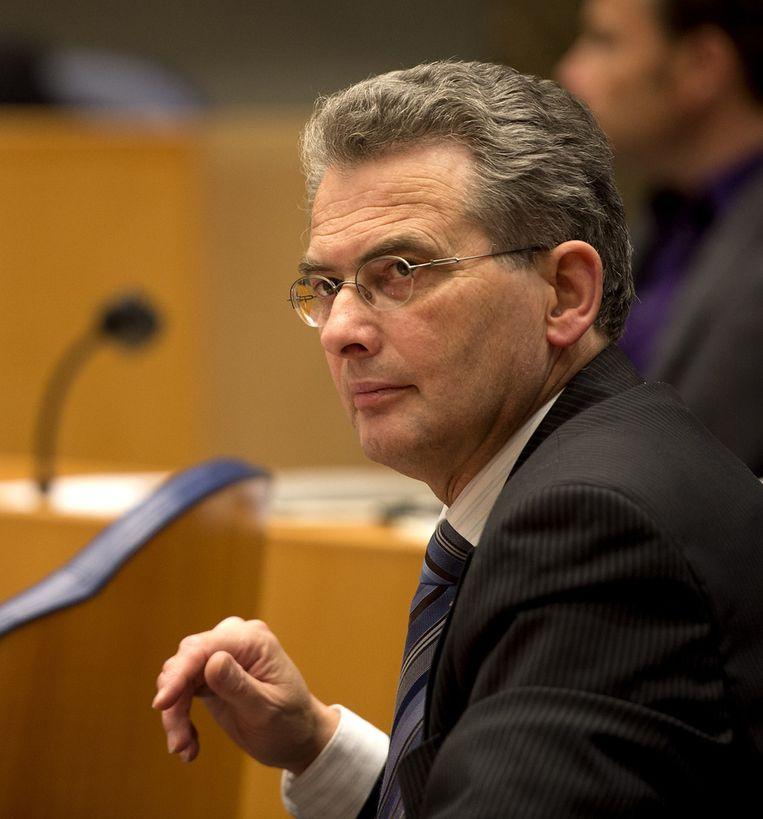 SGP-Kamerlid Roelof Bisschop Beeld ANP