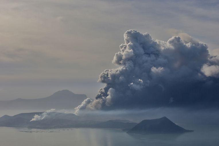 De vulkaan Taal wordt gezien als een van de gevaarlijkste vulkanen van Zuidoost-Azië.