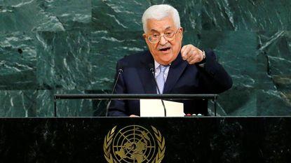 """Abbas vraagt VN om """"binnen vooropgestelde termijn"""" einde te maken aan Israëlische bezetting"""