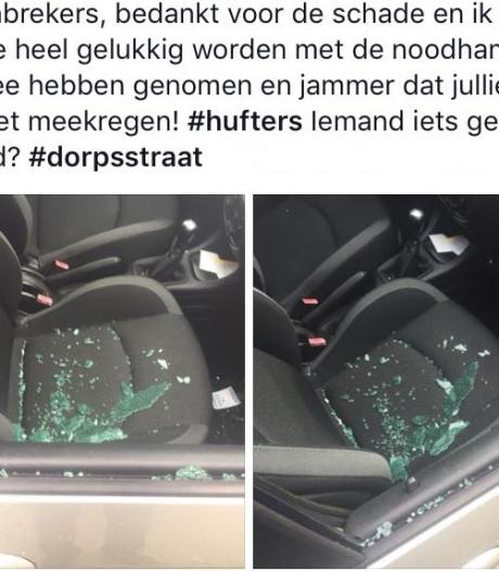 Auto-inbrekers slaan toe in Someren, buit bestaat uit noodhamer