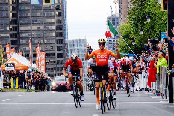 Van Avermaet wint in Montreal.