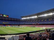 Plannen voor renovatie en uitbreiding Camp Nou uitgesteld