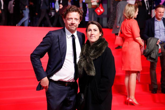 Ben Segers met zijn partner Lenny Van Wesemael