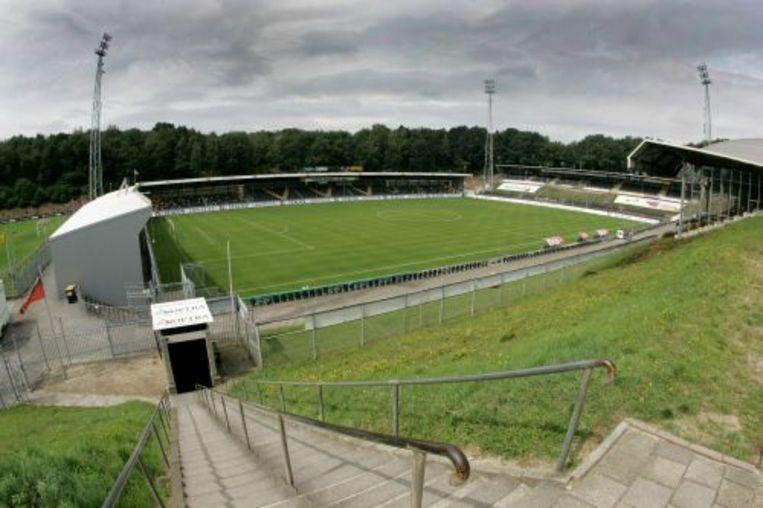 Hoe lang moet er straks worden gevoetbald zonder publiek, zoals hier in Stadion De Koel in Venlo? Beeld ANP
