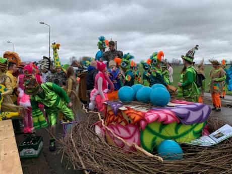 Ook in Terhole en Nieuw Namen geen wagens bij carnavalsoptochten door harde wind