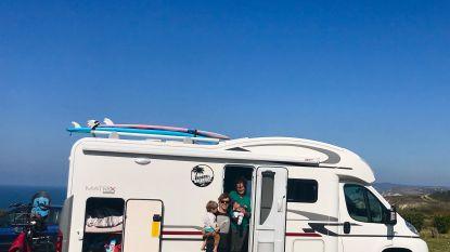 Brugs koppel pakt uit met nieuwigheid in Franse 'Board & Breakfast': surfvakantie met mobilhome