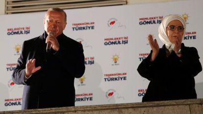 Erdogan bijt in het zand