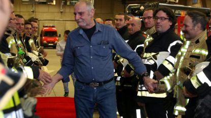 Oudste brandweerman Swa Kloots (65) na 44 jaar op pensioen