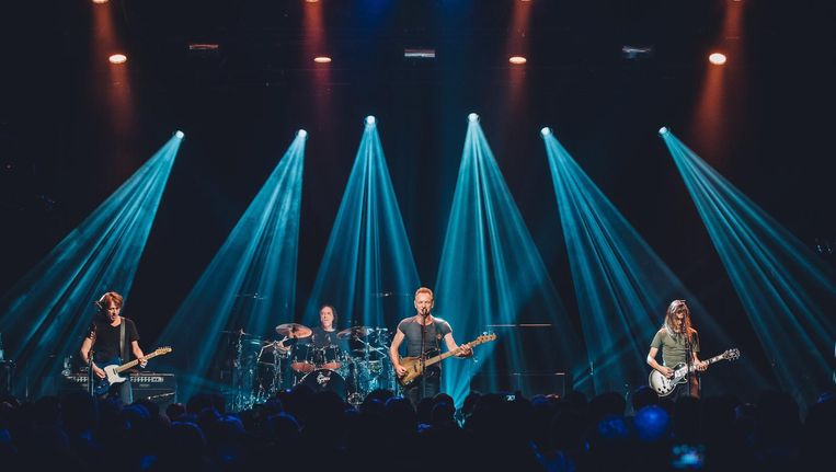 Sting tijdens zijn optreden in Batclan. Beeld photo_news