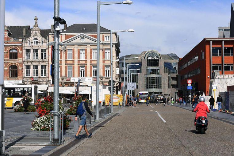 De ANPR-camera aan het Martelarenplein in Leuven krijgt 34 broertjes op andere locaties in de stad.