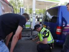 Grote controle bij Paaspop: 'Die oude caravans zijn een gevaar op de weg'
