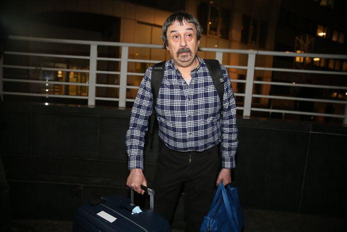 Philip Soubry verliet op zondag 16 februari het Brusselse Sint-Pietersziekenhuis na elf dagen quarantaine.