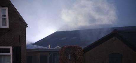 Brand in loods aan Kerkweg in Schaijk