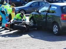 Motorrijder gewond na ongeluk in Oss