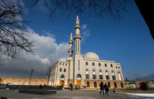 De Essalam Moskee in Rotterdam-Zuid.