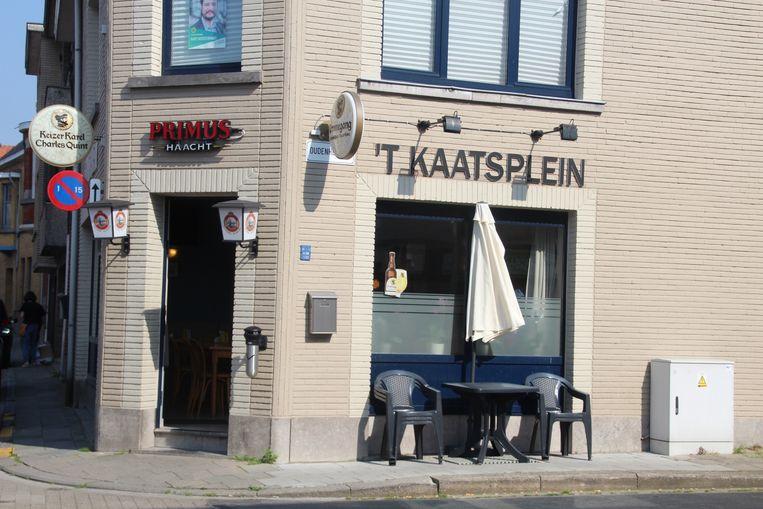 Café Kaatsplein Lede.