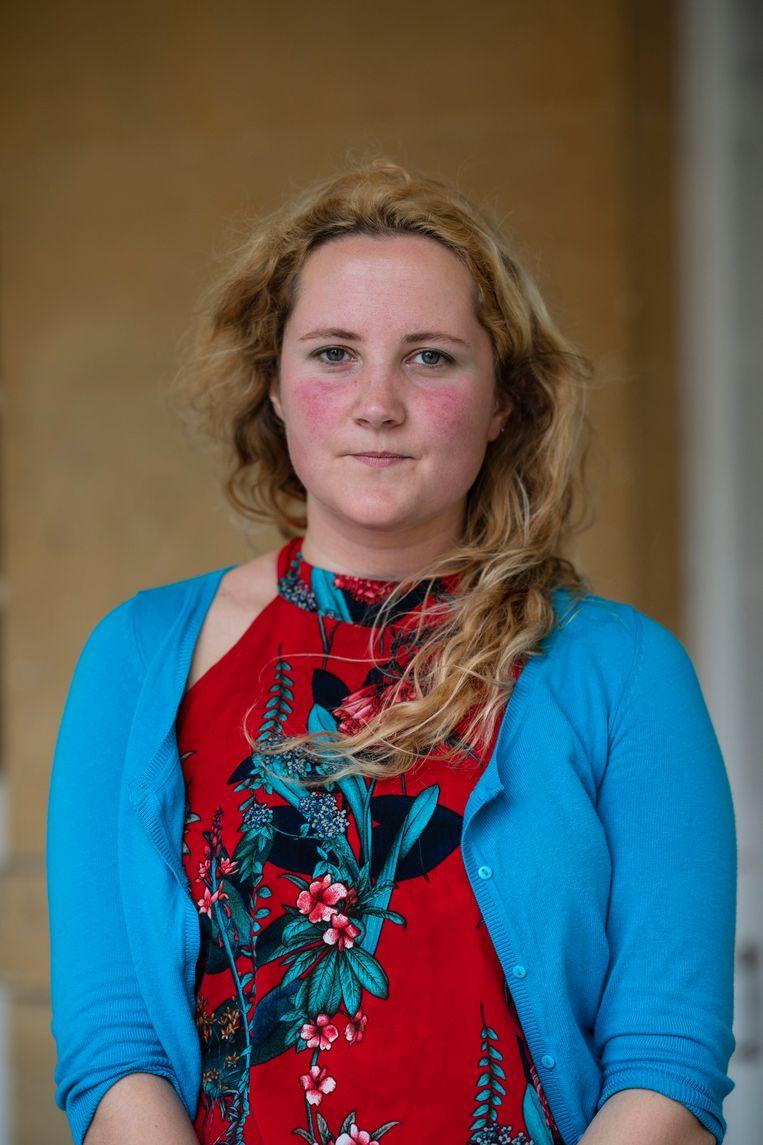 Daisy Johnson: 'Ik werd er zelf bang van toen ik aan het schrijven was. Daar was ik heel tevreden over.'  Beeld Getty Images