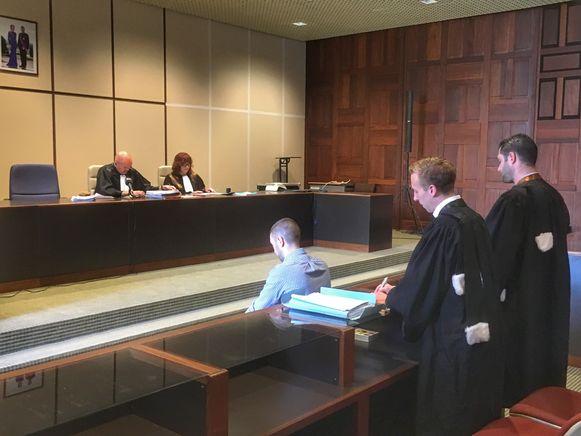 M.M. was dinsdagmorgen zelf aanwezig in de rechtbank.