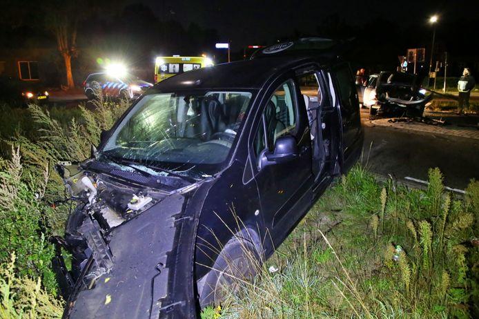 Vier gewonden bij ongeval in Hapert