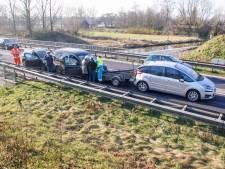 Duitse vrouw gewond bij kettingbotsing in Veenendaal