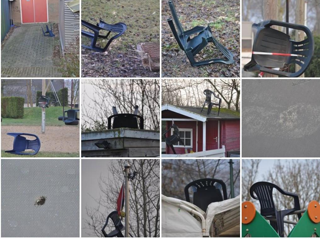 Facebookfoto's van de pagina van speeltuin De Souburgt tonen de ravage die afgelopen voorjaar door vandalen werd aangericht.