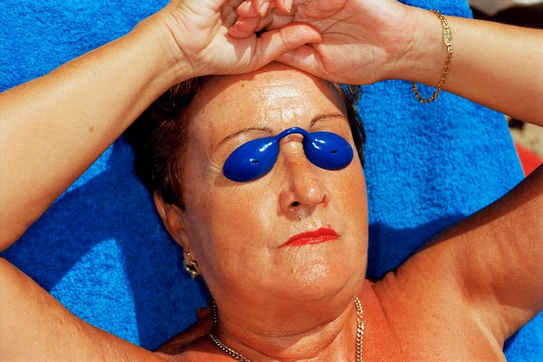 Benidorm, Spanje, uit Common Sense, 1997. Beeld Martin Parr / Magnum Photos