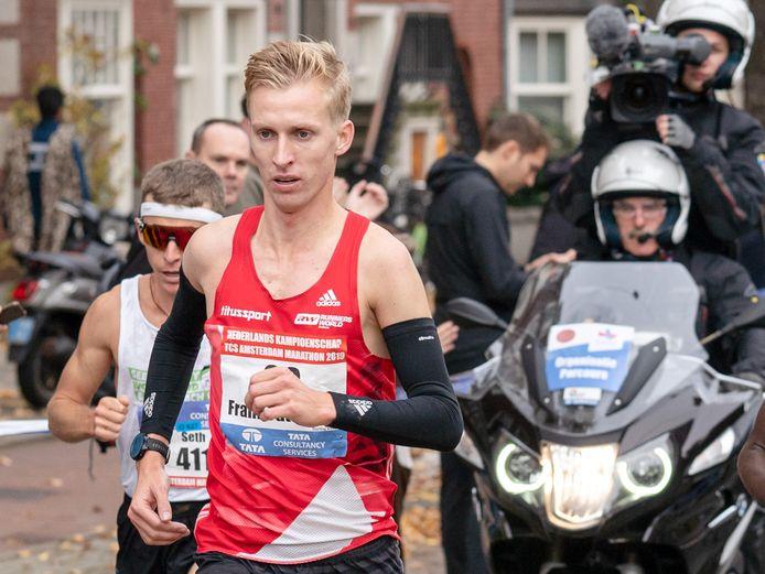 20-10-2019: Atletiek: TCS Amsterdam Marathon: Amsterdam Beethovenstraat , Frank Futselaar