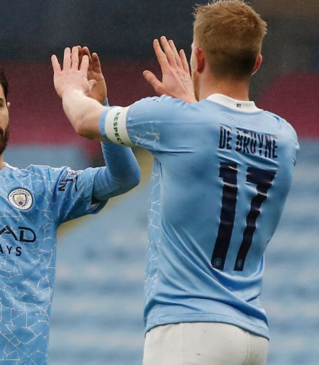 Qualification tranquille pour Manchester City, nouvel assist pour Kevin De Bruyne
