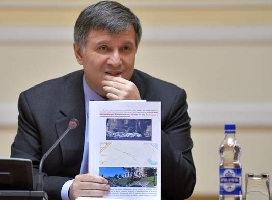 Arsen Avakov, ministre ukrainien de l'Intérieur