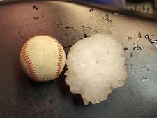 Hagelstenen zo groot als honkballen in Missouri
