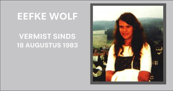 Eefke Wolf verdween op haar 25ste.