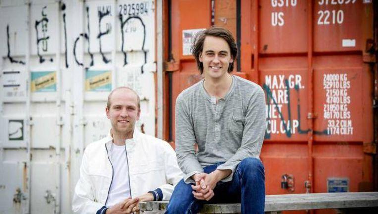 Marten Blankesteijn en Alexander Klöpping gaan met hun Blendle ook naar Duitsland.